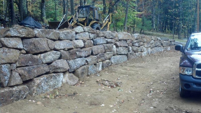 Boulder Walls New Hampshire